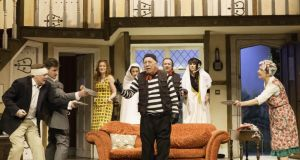 Existentialist: the Old Vic production of Noises Off. Photograph: Johan Persson