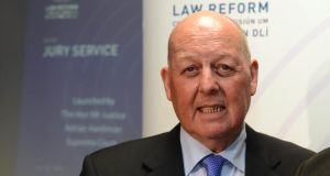 Mr Justice John Quirke: Conducted a three-month review and submitted his report to the Government. Photograph: Eric Luke
