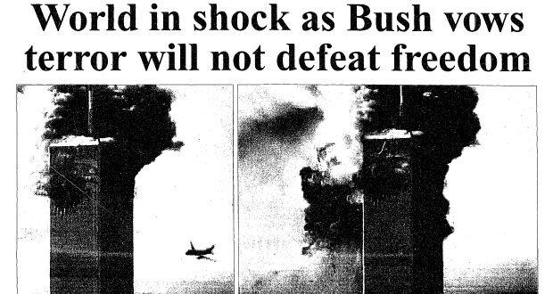 bush response to 911 terrorist attacks essay