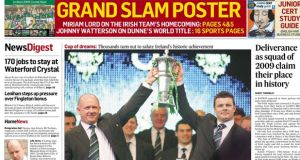 Ireland wins Six Nations Grand Slam
