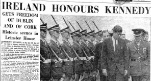 Ireland honours Kennedy