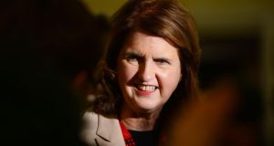 Minister for Social Protection Joan Burton defended the code. Photograph: Alan Betson / The Irish Times