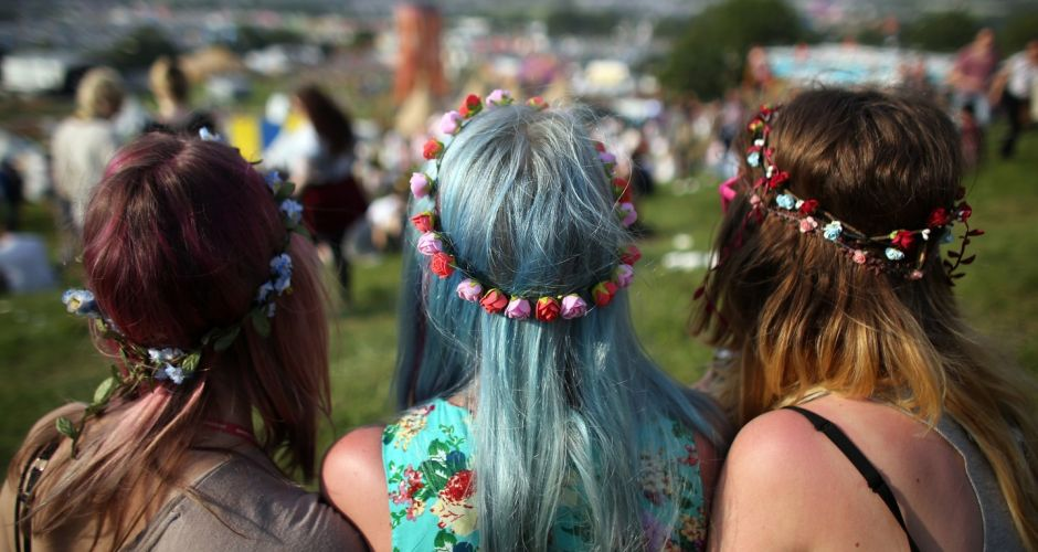 Glastonbury music festival 2013