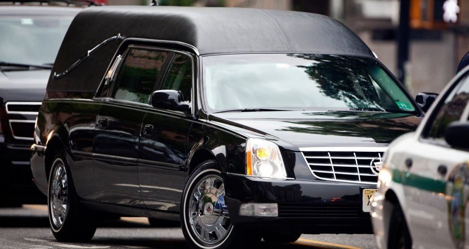 Funeral of James Gandolfini in New York