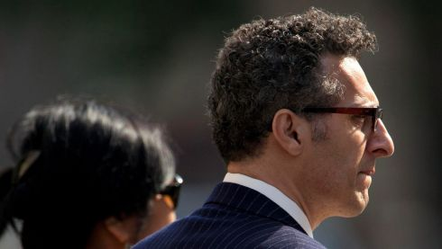 Actor John Turturro arrives. Photograph: Carlo Allegri/Reuters