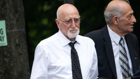 Actor Dominic Chianese, who played Junior Soprano.  Photograph: Carlo Allegri/Reuters