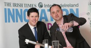 Kevin Keane, chief technology officer, and and Edmond O'Reilly, chief executive, of Trustwater