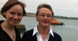 Cathy O'Leary with her mother Mary in Courtmacsherry, Co Cork