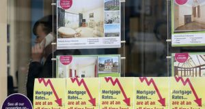 In the three months through June, home prices increased 0.4 per cent from the previous quarter and 1.4 per cent from a year earlier. Photograph: Chris Ratcliffe/Bloomberg