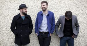 Bell X1: Dave Geraghty, Paul Noonan and Dominic Philips