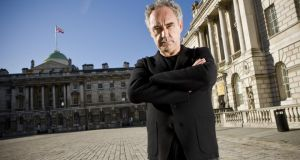 Ferran Adrià at Somerset House. Photograph: Sam Mellish