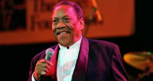 "Blues singer Bobby ""Blue"" Bland was inducted into the Rock and Roll Hall of Fame in 1992."