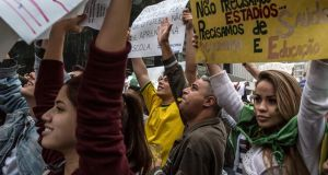 "Protesters  in Sao Paulo earlier this month. ""Wu Ming"" argues that there is ""a new international consciousness and activism sweeping world cities from Istanbul to São Paulo to Cairo and all around Europe"". Photograph: New York Times"