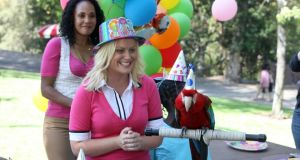 Comedy stalwart: Amy Poehler in her sitcom, Parks and Recreation. Photograph: NBC