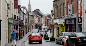 Monaghan town: the 2011 census shows 30 per cent of the people in the town are foreign nationals. Photograph: David Sleator