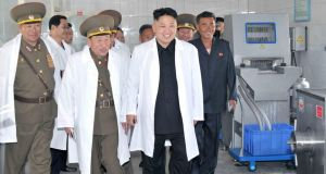 North Korean leader Kim Jong Un inspect a farm under the Korean People's Army.`The place most likely to have a 10 per cent growth story is North Korea,' says author Joe Studwell