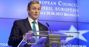 Taoiseach Enda Kenny welcomed that agreement to open accession negotiations with Serbia. Photograph: AP