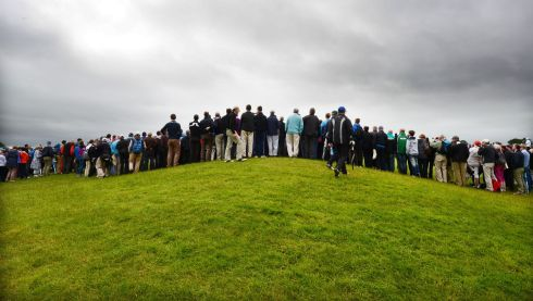 Spectators  during the second day of the Irish Open at Carton House. Photo: Alan Betson / THE IRISH TIMES