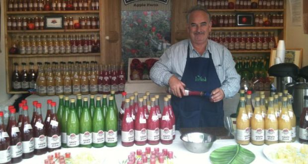 "Maurice Gilbert from Ballyhoura Apple Farm says taste, creativity and innovation ""set us apart"""