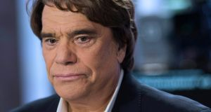 French businessman Bernard Tapie claims he was the victim of a plot to discredit Nicolas Sarkozy. Photograph: Fred Dufour/Reuters