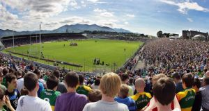 "A large crowd in Killarney await the start of last year's Kerry versus Tyrone qualifier clash. ""None of these Cork players have ever beaten Kerry there. This is no time to be giving them a taste of it."" Photograph: Cathal Noonan/Inpho"