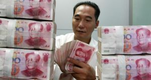 Chinese economy faces tricky challenge. Photograph: AFP/AFP/GettyImages
