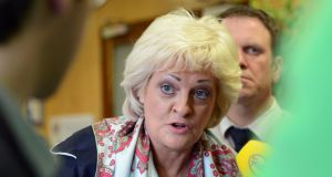 Addressing the Ictu biennial delegate conference in Belfast, vice-president Patricia King said the Government was the only body which could deliver change, but that one part of it was completely embedded with the employer side. Photograph: Eric Luke/The Irish Times