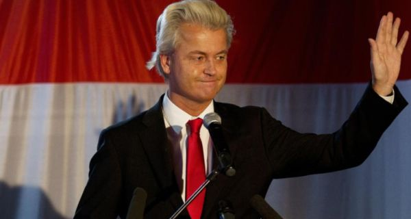 Leader of the far-right Freedom Party Geert Wilders. Photograph: Jerry Lampen/AFP photo/ANP