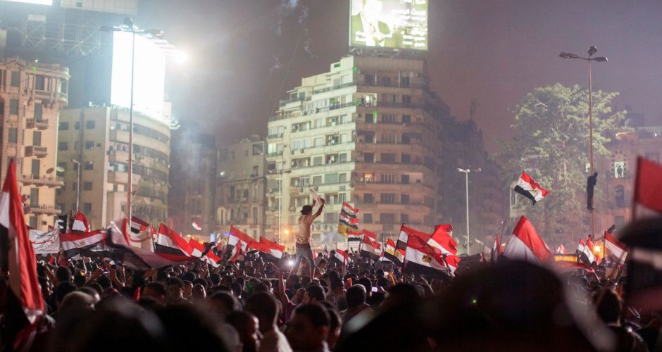 Change of power in Egypt