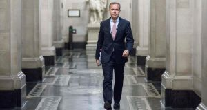 The Bank of England, at its first policy meeting under new governor Mark Carney (pictured), said a recent rise in bond yields was not warranted by the state of the British economy. Photograph: Jason Alden/Bloomberg.