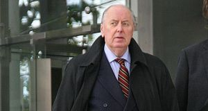 Former Fianna Fáil senator and Dublin county councillor  Don Lydon, who has pleaded not guilty to corruption charges. Photograph:  Collins Courts