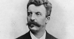 'Guy de Maupassant  the realist saw the mean-minded pettiness of men, the civil servants and peasants with hearts as dried as peas.' Photograph:  Hulton Archive/Getty Images