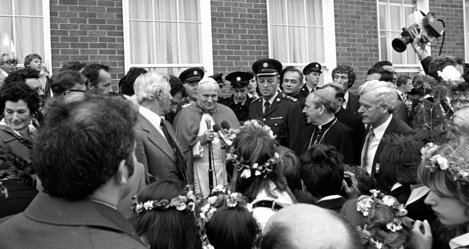 Pope John Paul II's Irish visit