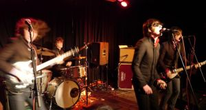 Old-school teenage rockers: The Strypes  Photograph: Davin O'Dwyer