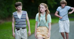 Missy Keating, Matthew Dillon and Padhraig Parkinson in 'The Sea'
