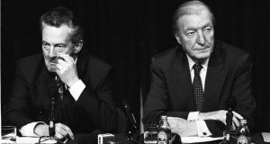 Dessie O'Malley was widely lauded for standing up to Charlie Haughey on a matter of principle. Photograph: Peter Thursfield