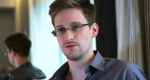 The Government has received a request from the US to arrest NSA whistleblower Edward Snowden if he arrives in the State. Photograph:  Reuters