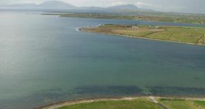 "The Department of Energy has confirmed that it has been investigating reports of ""sinkholes"" or ""depressions"" on a north Mayo tidal estuary"