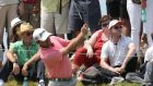 Graeme McDowell in action  during the final round of the Open de France