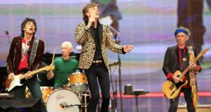 The Rolling Stones perform at Hyde Park in London on July 6th. Photograph: Simone Joyner/Getty Images