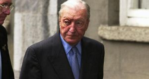 The content of the Anglo Irish Bank tapes published in the Irish Independent could prejudice proceedings. Defendants might seek to follow the lead of Charles Haughey in 2000, when he successfully pleaded that because public opinion had been poisoned against him, he could not get a fair trial on charges of obstructing the McCracken tribunal. Photograph: David Sleator