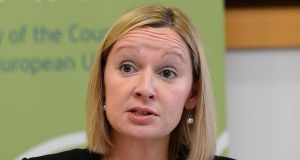 "Lucinda Creighton: ""Sorry Dr Reilly. Please do not mislead people. Our manifesto and programme for govt DID NOT commit FG Tds to this. Read it. Don't make it up."" Photograph: Alan Betson"