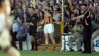 Kilkenny's Henry Shefflin takes to the field against Tipperary. Donall Farmer/Inpho