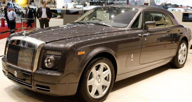 A Rolls Royce Phantom Similar To One Of Nine Luxury Cars Being Sold At The
