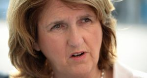 Minister for Social Protection Joan Burton  said the scheme meant the State will pay €1 in €4 of the cost of hiring somebody long-term unemployed from the live register.  Photograph: Frank Miller/The Irish  Times