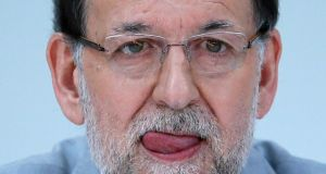 El Mundo has published copies of handwritten ledger entries which they say show Spanish politicians, including prime minister Mariano Rajoy, received payments from an illicit slush fund.  Javier Barbancho/Reuters