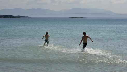 ...Did somebody say idyllic? To say the least. Photograph: Frank Miller/The Irish Times