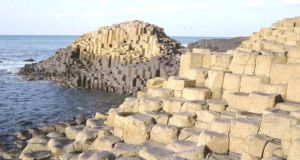 The Giant's Causeway: 50 to 60 million years old or less than 10,000? It is not a matter of opinion but of evidence. Photograph: AP