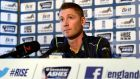 Australia's captain Michael Clarke at  a news conference before today's first Ashes cricket Test match against England at Trent Bridge in Nottingham.