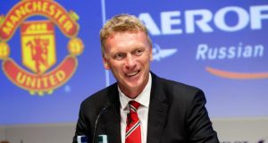 Manchester United's manager David Moyes. Photograph: Barrington Coombs/PA Wire
